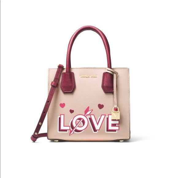 8315552d2714 Love Medium messenger leather Satchel